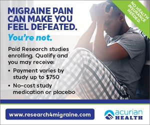 Do you suffer from frequent, painful Migraine headaches?