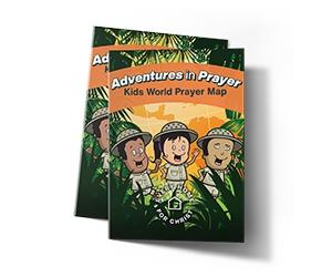 Free Kids World Prayer Map