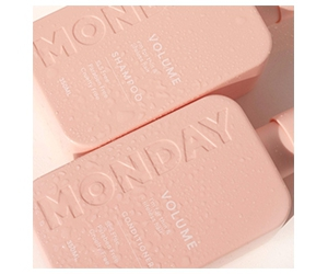 Free MONDAY Haircare Shampoo and Conditioner Set