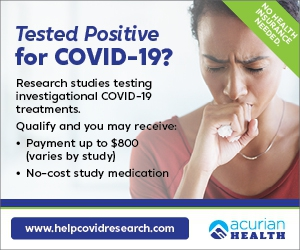Have you or a loved one received a positive test for COVID-19 within the last 9 days?