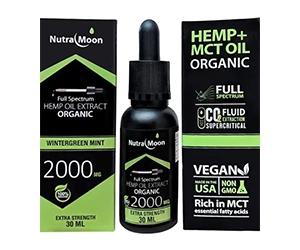 Free CBD Full-Spectrum Oil And Cream Kit From NutraMoon