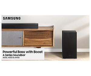 Free Samsung A Series Soundbar