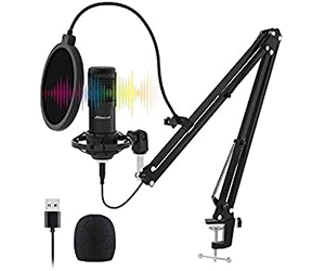 USB Streaming Microphone Kit From Stilnend Professional With 64% Off