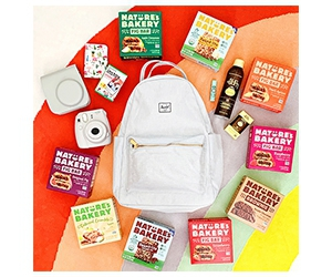 Win A Year Of Nature's Bakery Snacks, Backpack, Instax Mini 9 Set And More Prizes