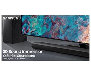 Free Samsung Q Series Soundbar