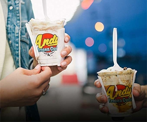 Free Andy's Frozen Custard Cup