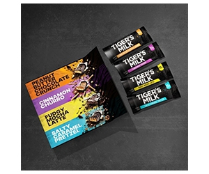 Free Tiger's Milk Protein Bars