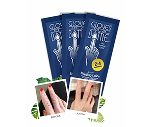 Free Glove In A Bottle Hand Lotion Sample
