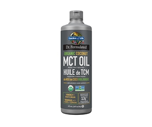 Free Organic MCT Oil From Garden Of Life