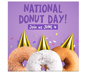 Free Donut At Duck Donuts On National Donut Day