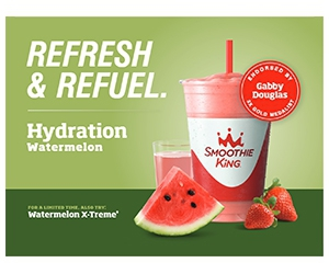Free 12 Oz Hydration Watermelon Smoothie At Smoothie King