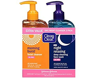 Get Clean & Clear 2-Pack Day And Night Face Cleanser With 21% Off At Amazon