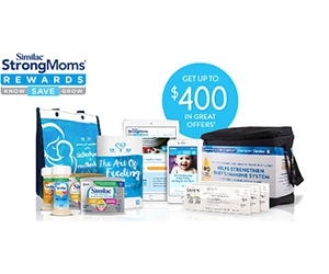 Free Formula Samples, Shutterfly® photo book & more from Similac® StrongMoms® Rewards