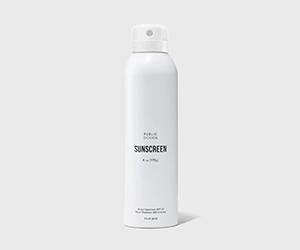 Free SPF 50 Spray Sunscreen from PUBLIC GOODS