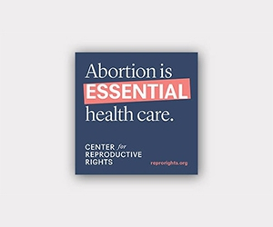 Free Center for Reproductive Rights Sticker