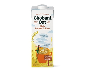 Free sample of Chobani® Oat Barista