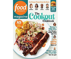 Free Food Network Magazine 2-Year Subscription