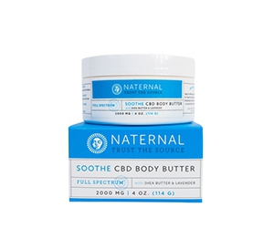 Free Soothe CBD Body Butter From Naternal