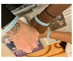 Free #COVIDSAFE21 Bracelet