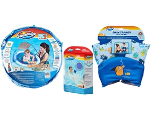 Free Baby Spring Water Float, Trainer Life Jacket, And Soft Swimmies From SwimWays