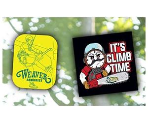 Free x2 Stickers From Weaver Arborist