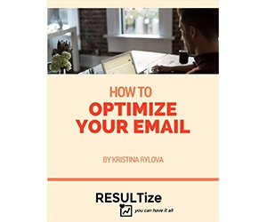 """Free Tips and Tricks Guide: """"How To Optimize Your Email"""""""