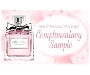 Free Miss Dior Blooming Bouquet Fragrance Sample