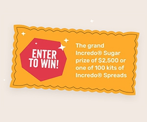 Win $2,500 For Your Dream Kitchen + Spreads Kit From Incredo