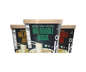 Free Big Noodle Bowls From Ocean's Halo