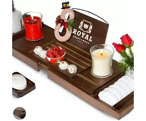 Free Royal Craft Wood Cutting Boards, Organizers, And Bathtub Caddy Trays To Test And Keep