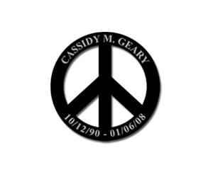Free Cassidy M. Geary Sticker