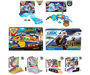 Free Monster Jam, Supercross, And Tech Deck Playsets From Spin Masters