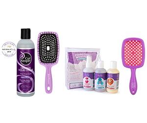 Free CurlKeeper Original Liquid Styler, Flexy Brush, Curls Starter Pack, And More