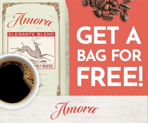 Free Bag of Coffee from Amora