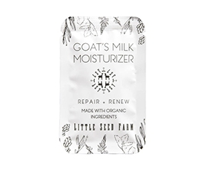 Free Goat's Milk Moisturizer Sample From Little Seed Farm