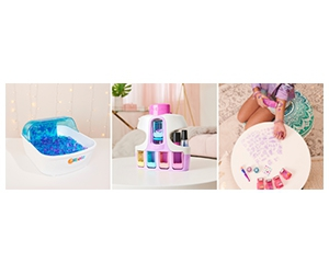 Free GO GLAM Nail Salon, Shimmer Me Body Art, And Orbeez Soothing Spa