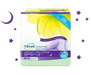 Free TENA Overnight Protection Kit