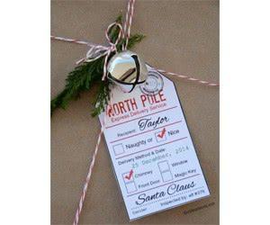 Free Santa Gift Tag Printables