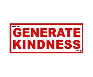 """Free """"Generate Kindness"""" Sticker"""