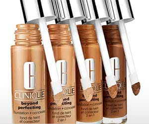 Free Clinique Beyond Perfecting Foundation Sample