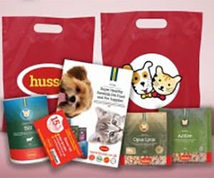 Free Hussie Cat & Dog Food Sample