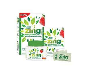 Free Born Sweet Zing Zero Calorie Stevia Sweetener Sample