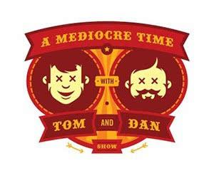 Free Tom & Dan Sticker