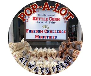 Free Pop-A-Lot Kettle Corn Samples