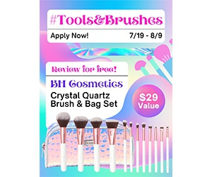 Free Crystal Quartz 12 Piece Brush Set And Bag From BH Cosmetics
