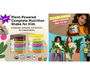 Free Plant-Powered Complete Nutrition Shake Mixes For Kids From Else Nutrition