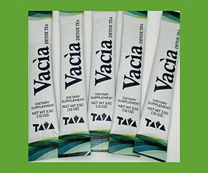 Free Vacia Detox Tea Sample