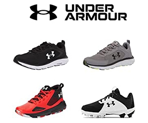 Save On Under Armour Footwear With Amazon