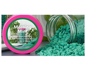 Free Morning Mint Wax Samples From Sprinkles By Shelly
