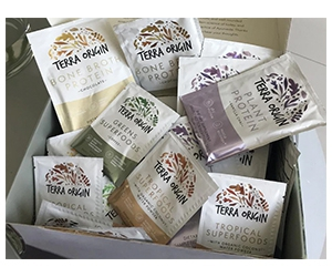 Free Terra Origin Supplements And Powders Sample Package